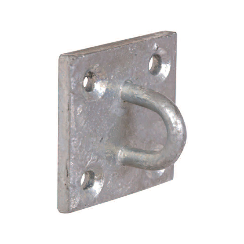 GALVANISED STAPLE-ON PLATE - 50 x 50mm