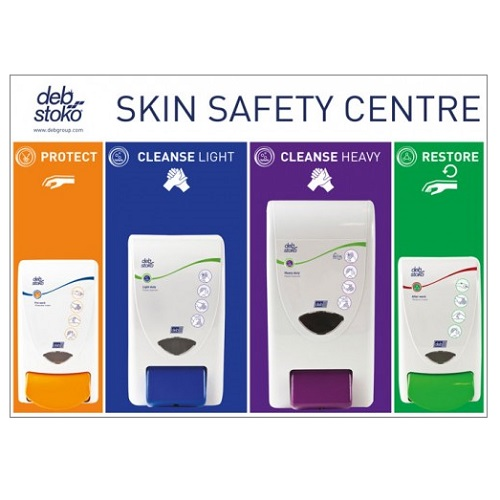 Deb 3 Step Skin Protection Centre Large Ssclge1en (2 X 1000 1 X 2000 1 X 4000) was Dnc04each Safety Centre