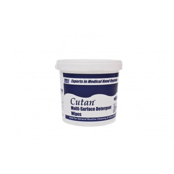 Deb Cutan Multi Surface Wipes Pail Cmw01x (tub Of 225 Wipes)