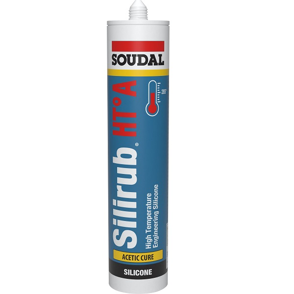 SILIRUB HT-A SILICONE SEALANT BLACK 310ML