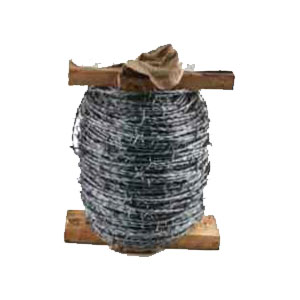 2 PLY 4 POINT GALVANISED BARBED WIRE (200 METRES)