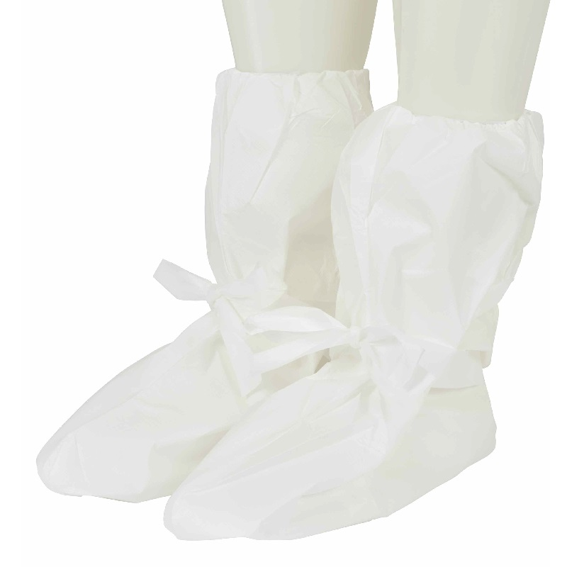 3m 440 White Protective Overboot (pair) Pe Laminate