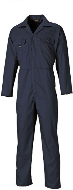 DICKIES 36 CHEST WD4829 NAVY STUD COVERALL TALL
