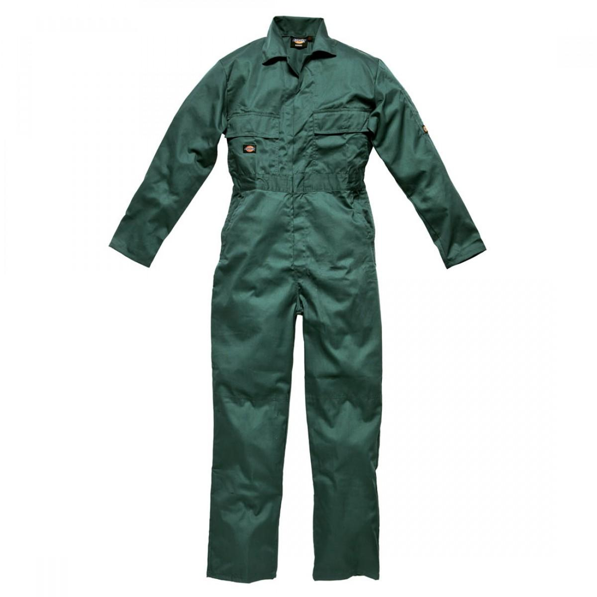 DICKIES 50 CHEST WD4829 LNC/GR STUD COVERALL REG