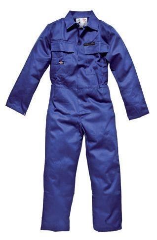 DICKIES 46 CHEST FR4869 ROYAL PROBAN BOILERSUIT REG