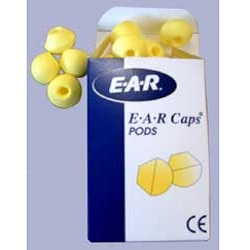 E.A.R. REPLACEMENT END CAPS FOR MODEL 200 CABOT EAR CAPS (PACK OF 10)