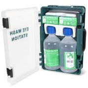 Wall Cabinet c/w 2 500ml Eye Wash & 2 Eye Pads 80226