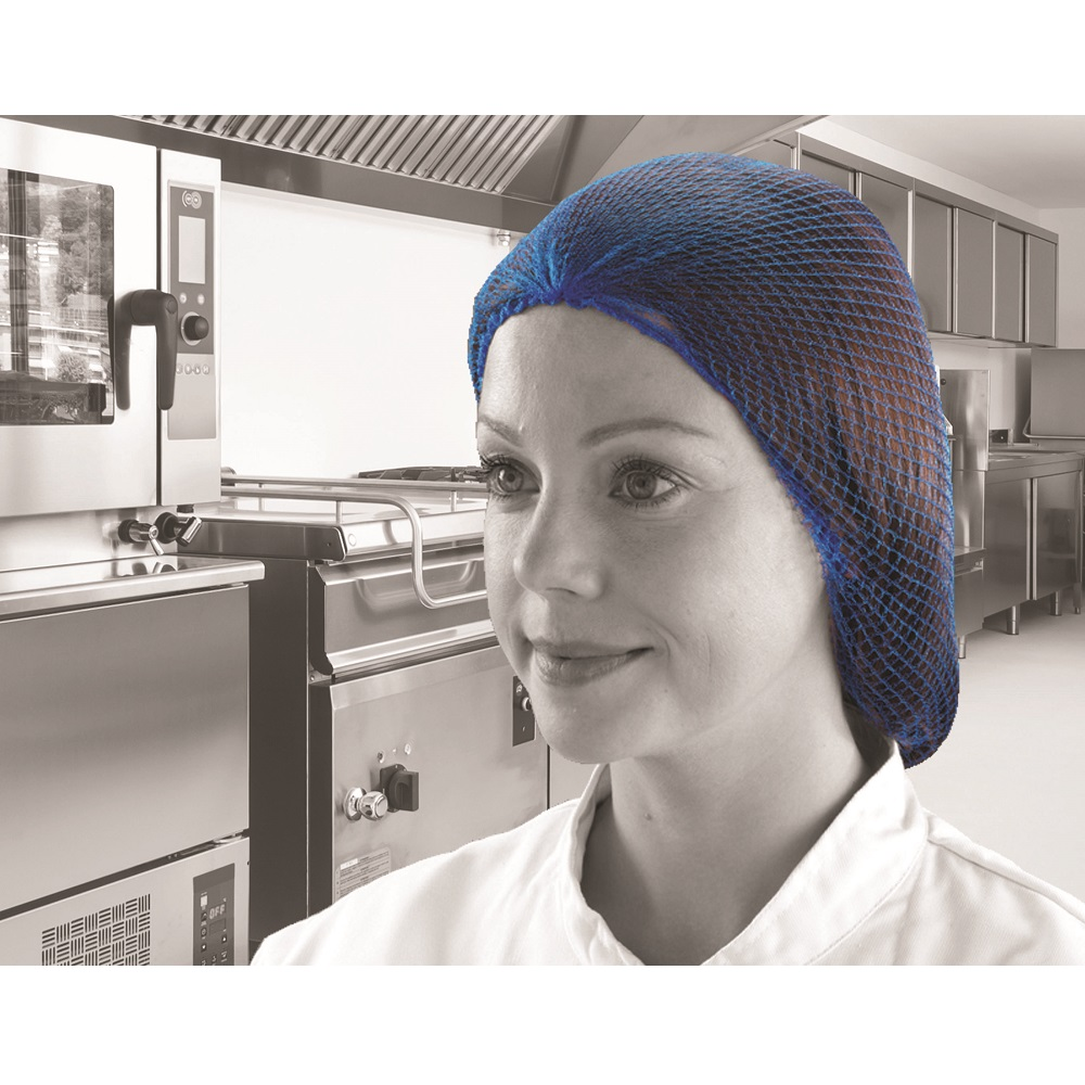 PH SHIELD BLUE DISPOSABLE HAIRNETS