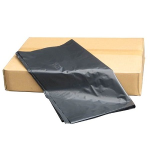 "Heavy PVC Black Bin Liners 18x29x39"" 240g (box Of 100)"