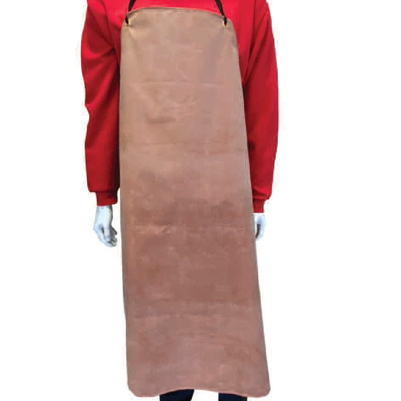 HEAVY WEIGHT RED RUBBER APRON  AP705/42X36
