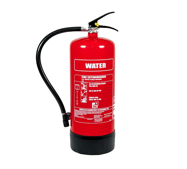 9LTR WATER FIRE EXTINGUISHER RED TITAN PSE05-01