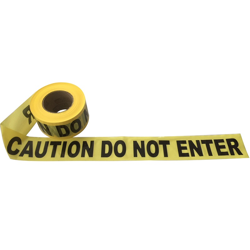 """CAUTION DO NOT ENTER"" TAPE 75MM X 250M"