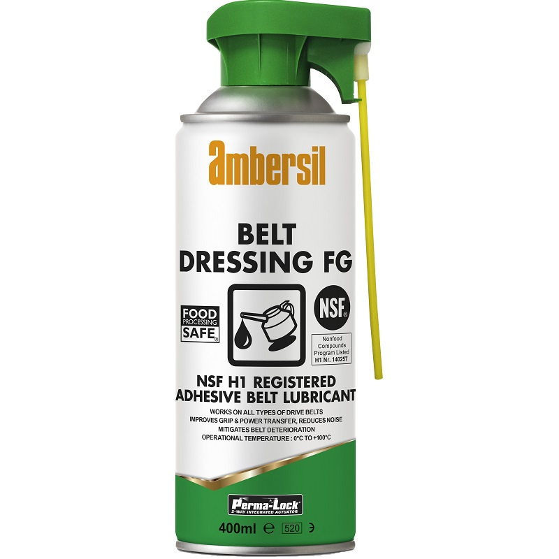 AMBERSIL BELT DRESSING SPRAY FG - 400ml AEROSOL
