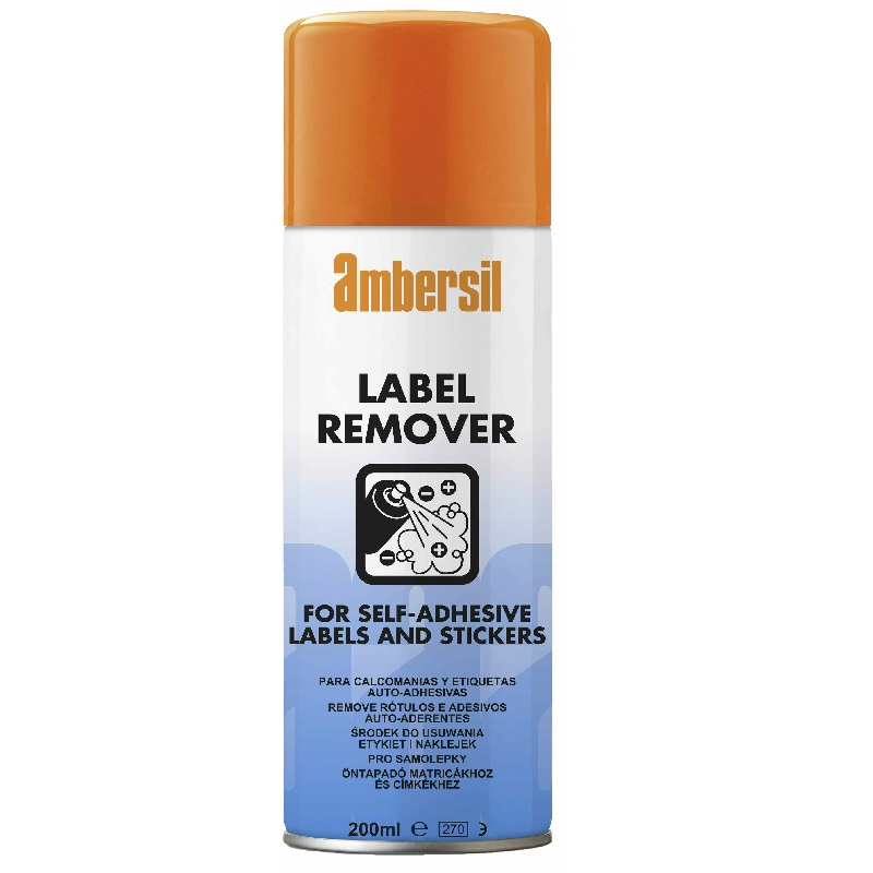 AMBERSIL LABEL REMOVER 200ML