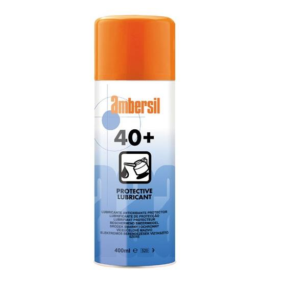 Ambersil 40+ Industrial Grade Multi-Purpose Lubricant 400ml  CSD