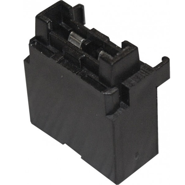 BLACK FUSE HOLDER FOR FU2 FUSE