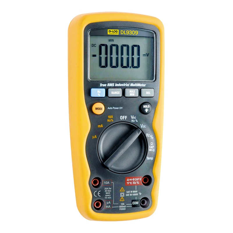 DILOG DL9309 TRUE RMS AUTO RANGING MULTIMETER
