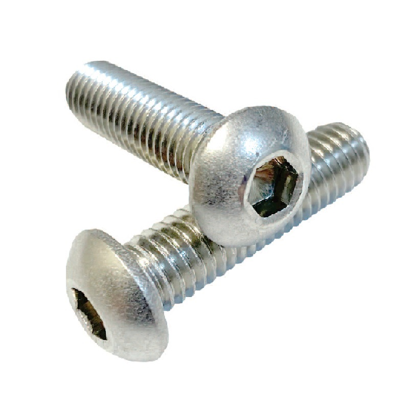 M6 A2 ST/ST BUTTON HEAD SOCKET SCREWS