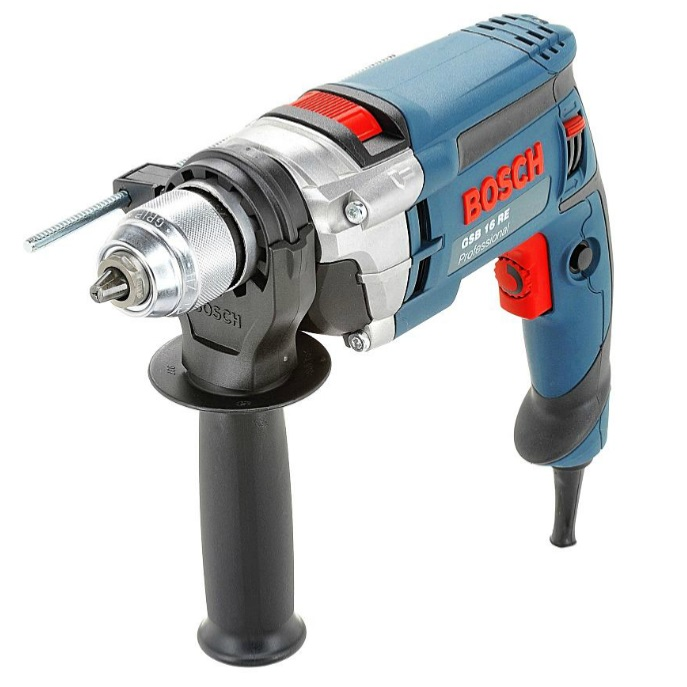 Bosch GSB 16 Re Impact Drill 1 Speed 750w
