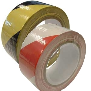 EUROTAPE BLACK/YELLOW 500M X 70MM
