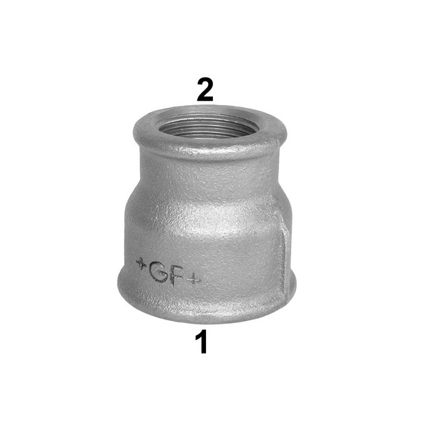 GF BLACK MALLEABLE CONCENTRIC  SOCKET
