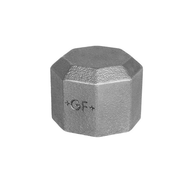 GF END CAP - GALVANISED  MALLEABLE