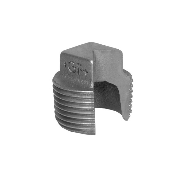 GF HOLLOW PLUG - GALVANISED MALLEABLE