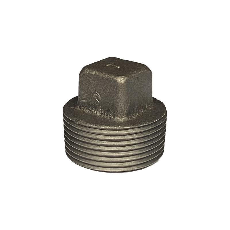 BLACK WROUGHT IRON PLUG