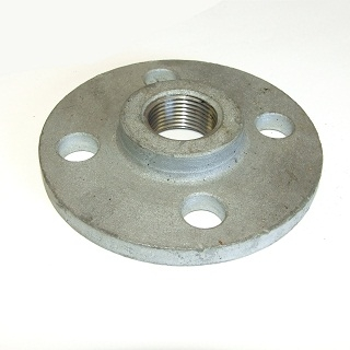 GALVANISED SCREWED FLANGES BS10