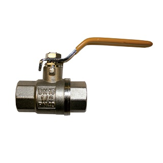 "4"" BSPP FWB40 BRASS 2-PIECE BALL VALVE FULL BORE YELLOW HANDLE 25BAR RATED WRAS & EN331 GAS APPROVED"