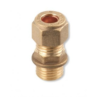 C X MI COUPLING BRASS COMPRESSION FITTINGS
