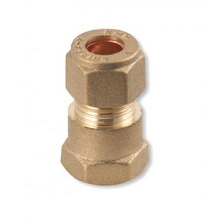 C X FI COUPLING BRASS COMPRESSION FITTINGS