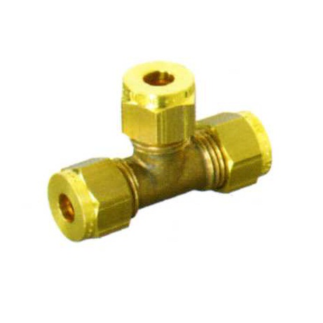"1/4"" OD WADE 2043 COMPRESSION EQUAL TEE"