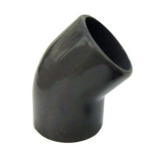 GF UPVC 45 DEGREE PLAIN ELBOW