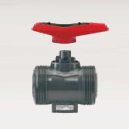 GF Type 546 Upvc Ball Valves d/u Plain