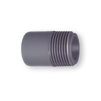 GF UPVC PLAIN THREADED BARREL NIPPLE