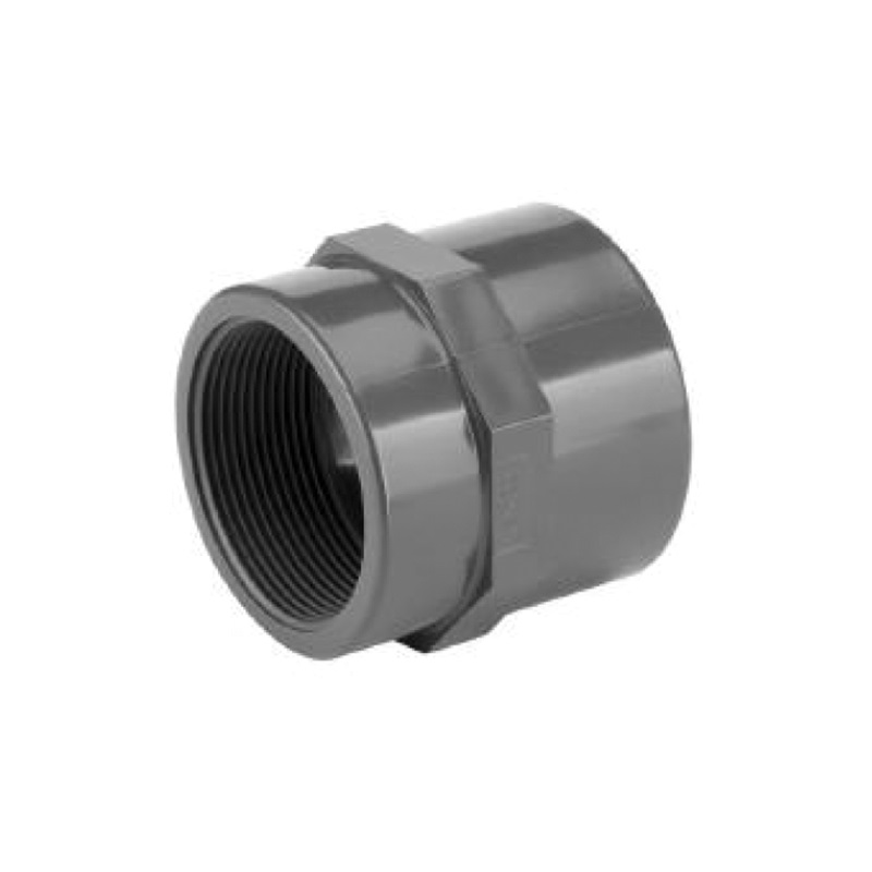 UPVC SOCKET PLAIN-THREADED