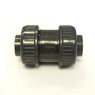 Abs Plain Double Union Ball Valve (epdm)