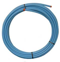 63MM MDPE BLUE POLYETHYLENE PIPE