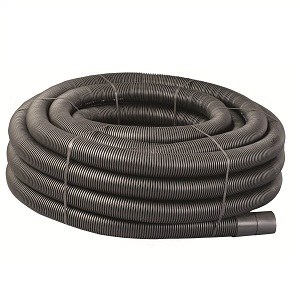 Black Perforated Land Drainage And Carrier Pipe
