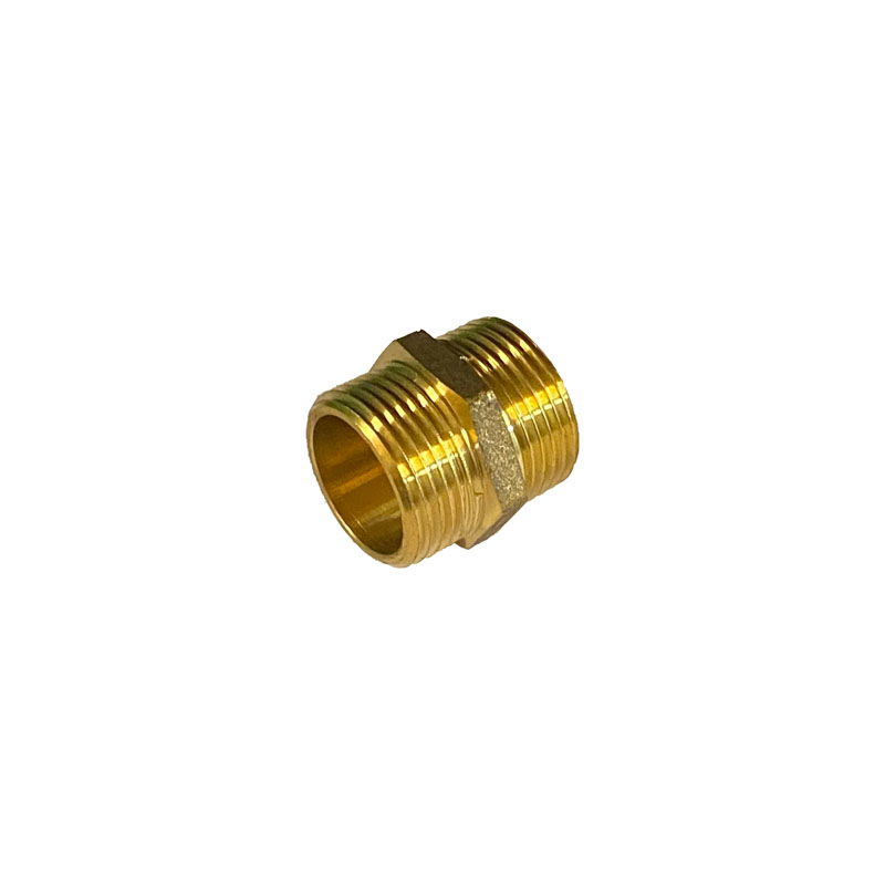 "1.1/2"" BRASS HEX NIPPLE"