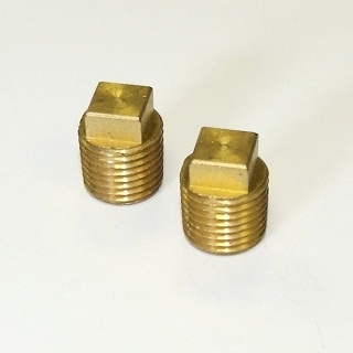 Brass Square Head Plugs