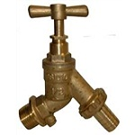 Brass Hose Union Bibcock With Check Valve