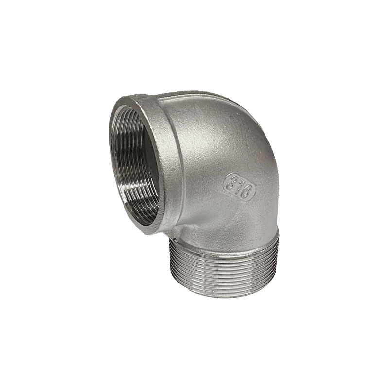 STAINLESS STEEL SCREWED ELBOW -MALE/FEMALE