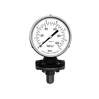 100mm Diaphragm Gauges Type 70