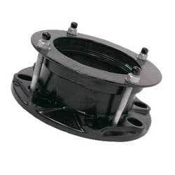 VIKING JOHNSON NP16 DEDICATED FLANGE ADAPTOR FOR DUCTILE IRON