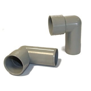 HUNTER SOLVENT WASTE 90 DEGREE SPIGOT BENDS