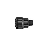 PHILMAC THREADED X COMPRESSION CONNECTOR, MALE