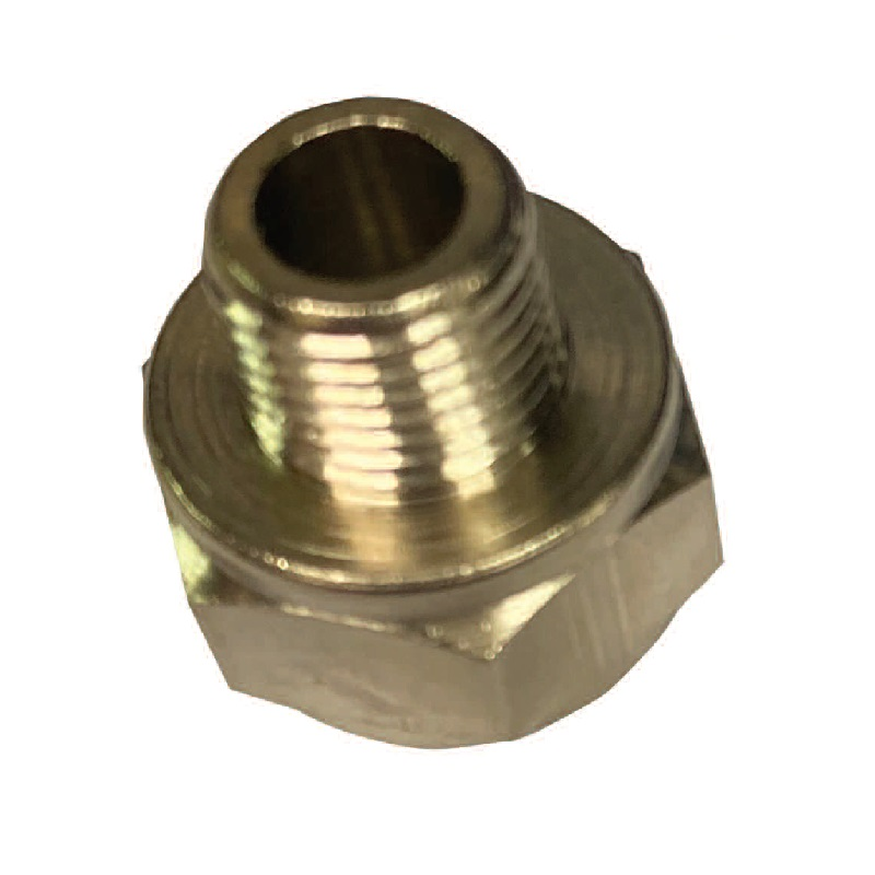 C-MATIC BRASS NICKEL PLATED ADAPTOR (TAPER)