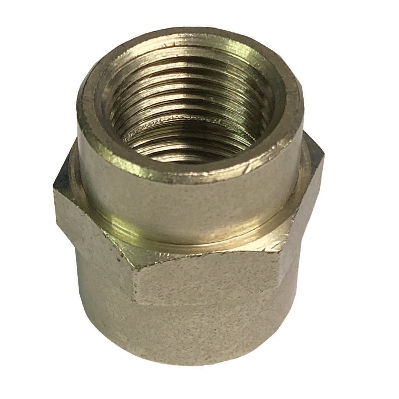 C-MATIC BRASS NICKEL PLATED SOCKET ADAPATOR